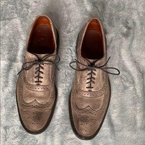 Allen Edmonds Mens McTavish Grey Dress Shoes